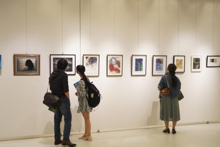 ケベック芸術家の展示